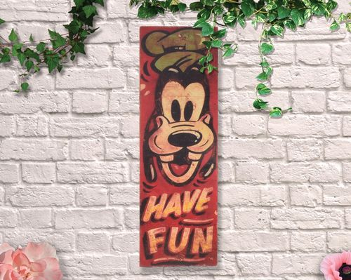 Painted Have Fun 80cm Circus Sign